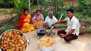 Golgappa Recipe   Pani Puri Recipe   How To Make Village Style Fuchka at Home
