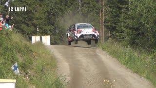WRC Rally Finland 2017 SS4 Jukojärvi