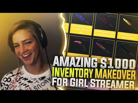 FUNNY $1000 Extreme Inventory Makeover For Girl Streamer!
