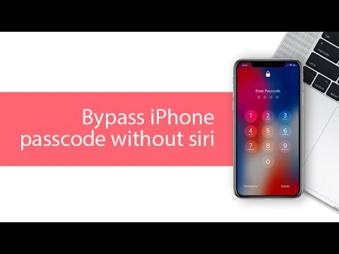 How to Bypass iPhone Passcode without Siri 2018. 100% Working