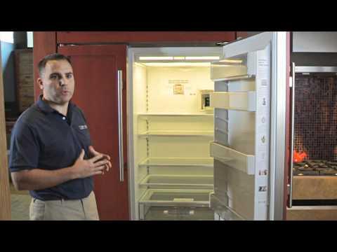 SubZero BI 48 Panel Refrigerator - Appliances NJ - TopLine Appliance Center Westfield  New Jersey
