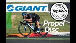 Essai du vélo de route Giant Propel Disc 2018