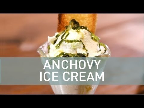 Food Deconstructed: Anchovy and Lemon Vinaigrette Ice Cream
