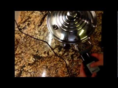Chef Warren Goodgoll ~maple strawberry cream cake in the electric skillet