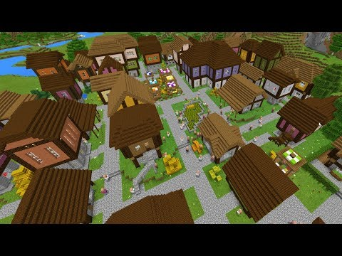 THIS KINGDOM IS HUGE! - Castle Adventure Part 1 - Minecraft Pocket Edition (Adventure Map)