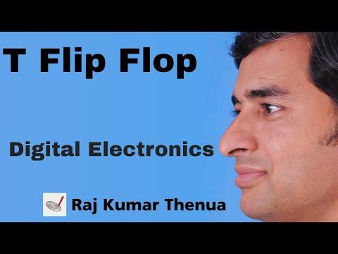 T Flip flop | Digital Electronics by Raj Kumar Thenua | Hindi / Urdu