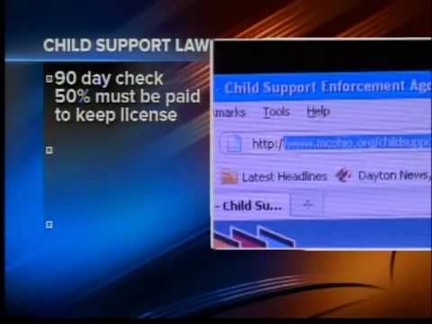 Child support law changes start this week
