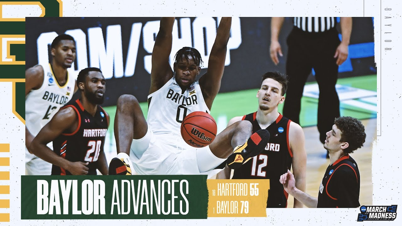 Baylor vs. Hartford - First Round NCAA tournament extended highlights