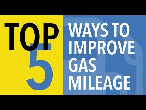 Top 5 Ways to Improve Gas Mileage - CARFAX
