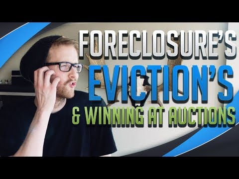 TURBO: Foreclosure Properties, Getting People Out & How To Win At Auctions