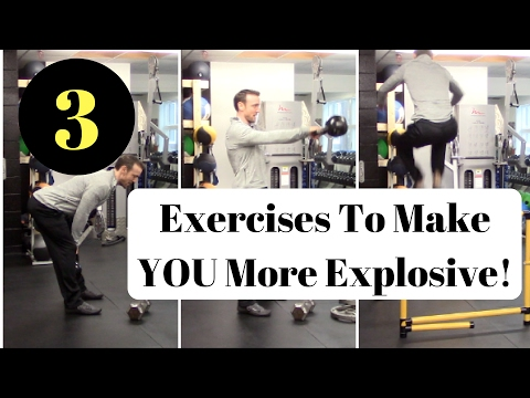 How to: Increase your Vertical Jump - 3 Exercises to become more explosive