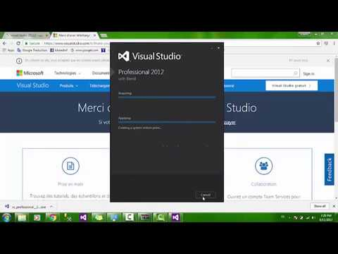 Lesson 1: How To Download And  Install Visual Studio 2012