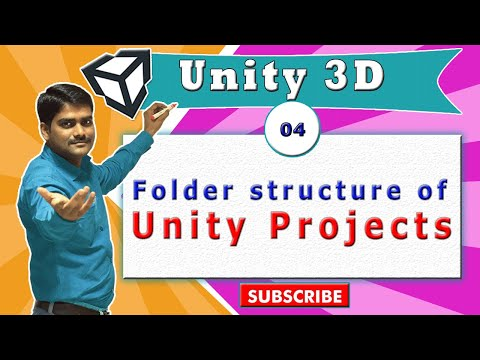 Unity Essentials Tutorial 04 - Folder structure of Unity Projects