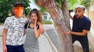 SPYING on Narin for 24 HOURS!! **Super Awkward**