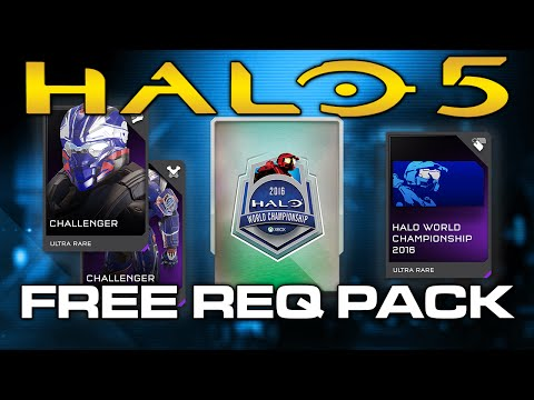 Halo 5 - How To Get Free Halo WC REQ Pack! Limited Time!