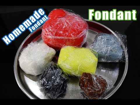 Fondant | Veg Fondant | Fondant without gelatin | How to Make Instant Fondant | Sugar Gum Paste