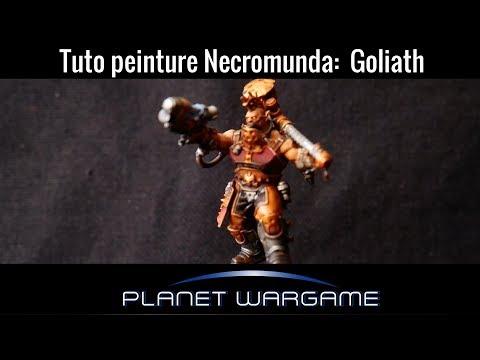 Tuto: Peindre les Goliaths pour Necromunda rapidement