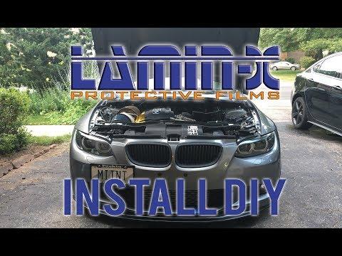 How To Install Lamin-x Headlight Film
