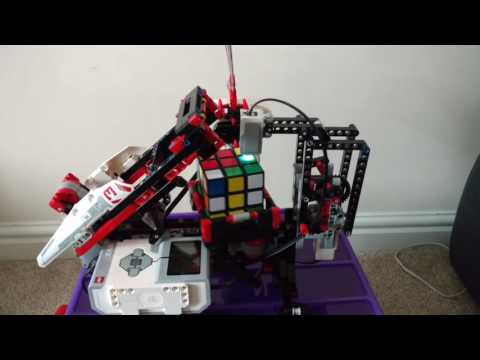 MindCub3r second attempt - using official Rubik's