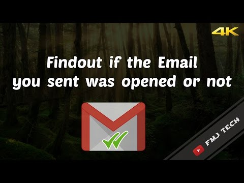 Get Read Receipts For Your EMAIL  - [Gmail Tip] -- 4K Video