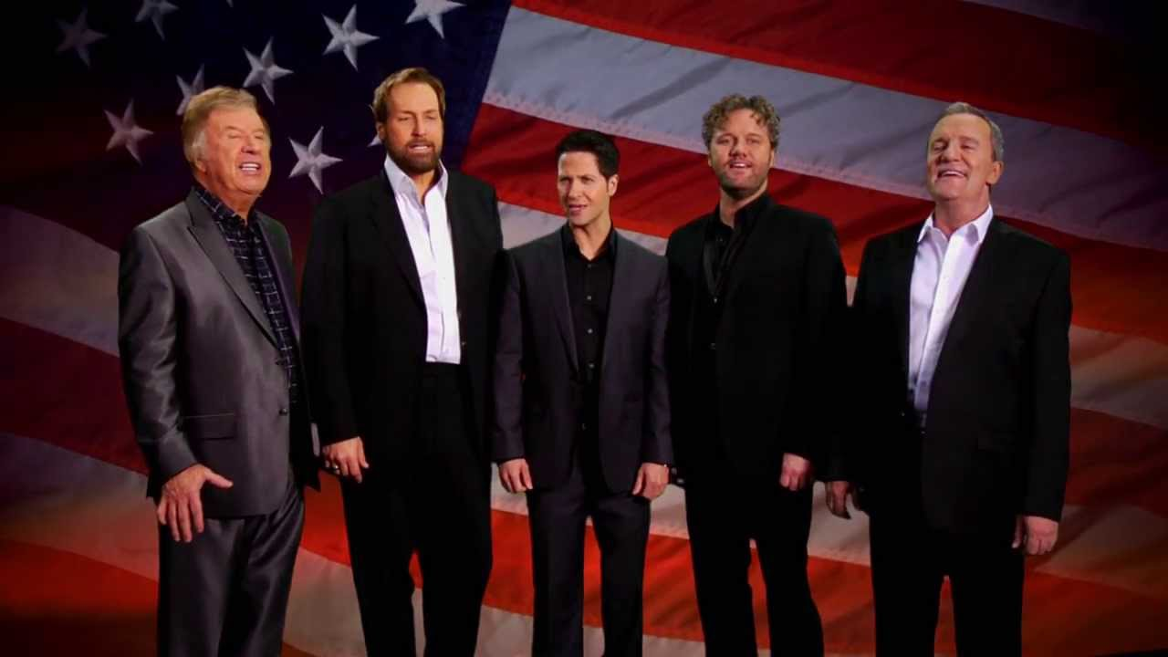 Gaither Vocal Band sings The National Anthem