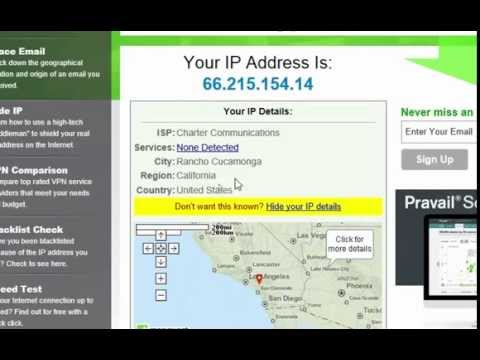 How to change IP address to other country