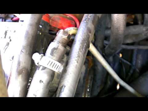 How to install a transmission oil cooler
