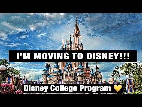 I GOT ACCEPTED INTO THE DISNEY COLLEGE PROGRAM!! // DCP FALL 2018