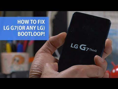 How to Fix LG G7(Or Any LG) Bootloop & Flash Another Country Firmware!