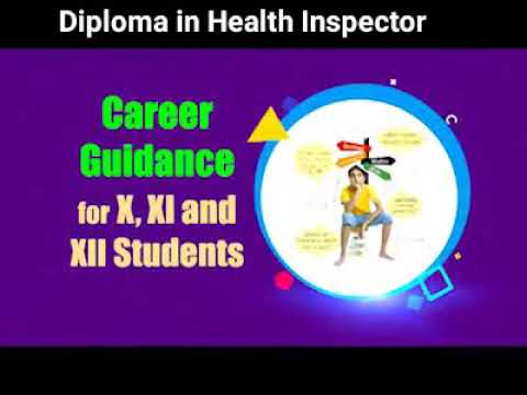 Diploma in Health inspector  ||   Eligibility    ||  BTech  ||  BSc  || +2 Pass   || science   ||