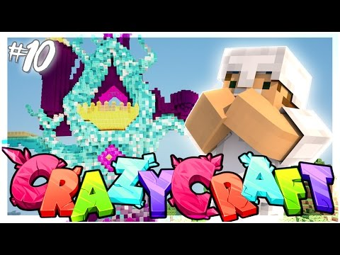 BUILDING THE CASTLE OF DREAMS!   EP 10   Crazy Craft 3.0 (Minecraft Youtuber Server)