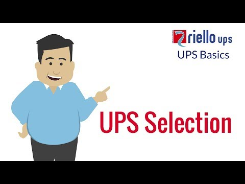 UPS Basics: UPS Selection & How To Choose The Best UPS