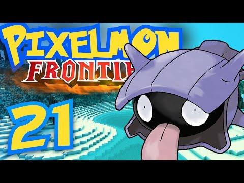 Pixelmon Survival Frontier [Part 21] - Tropical Shellder Building!