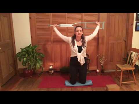 Yoga For A Broken Leg/Ankle/Foot: Tight Shoulder And Neck Relief