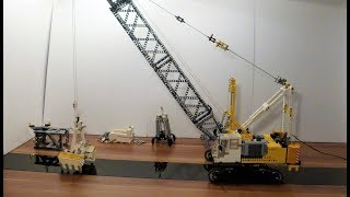 Rigging And Digging With An Rc Controlled Lego Technic Crane