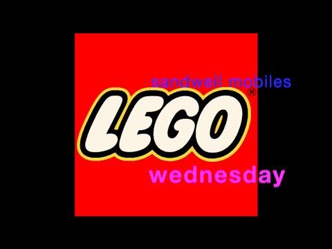 Sandwell mobiles Lego Wednesdays 1