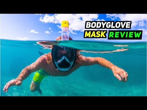 Body Glove Aire Full Face Snorkel Mask Review!