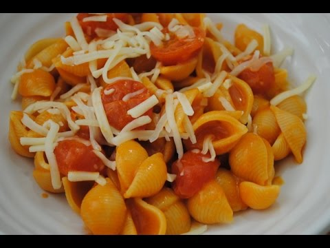 ONE POT TOMATO CHEESE PASTA - Student Recipe