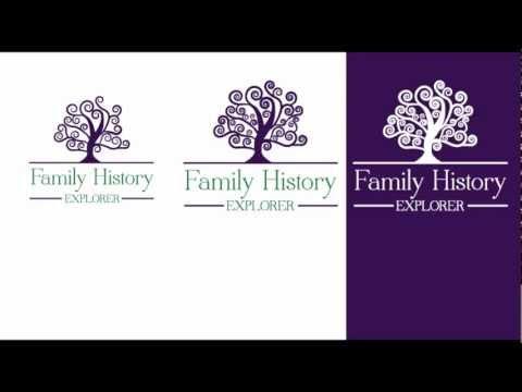 Family History Explorer Logo Design