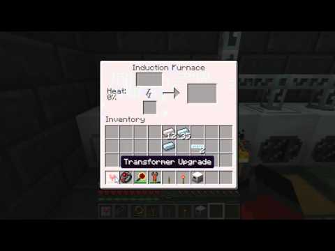 Tekkit: Induction Furnace. Smelting Super Fast and Easy!