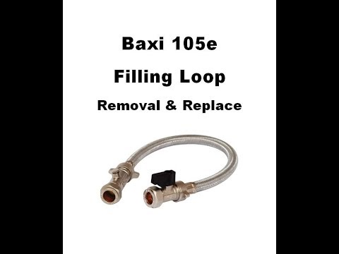 Baxi 105e Filling loop removal and replace