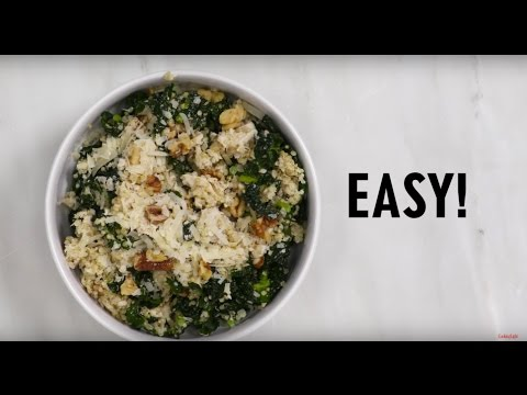 How to Make Kale Caesar Quinoa and Chicken Salad | Cooking Light