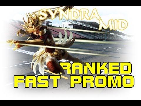 [RANKED/PROMO] SYNDRA MID  Fast -Promo! No hay rendición para vosotros.