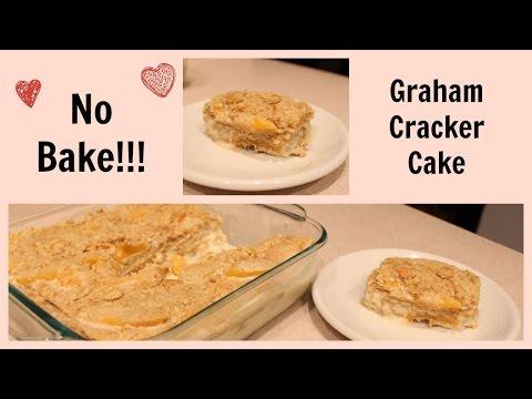 How to make Graham Cracker No Bake Cake!