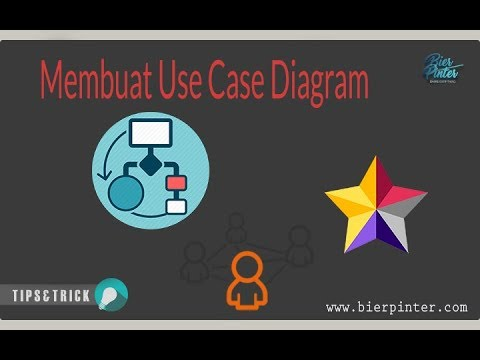 Membuat Use Case Diagram dengan Menggunakan StarUML