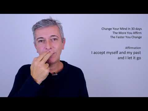 I accept myself, my past and I let it go (EFT Tapping)