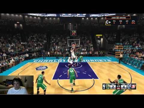 Let's Play NBA 2K15 - Getting Trolled while streaming