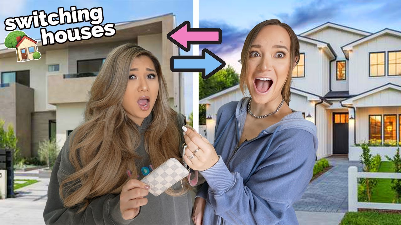 Switching Houses With Alisha Marie!!