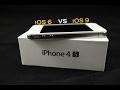 iPhone 4S iOS 6 vs iOS 9 Usability and Performance