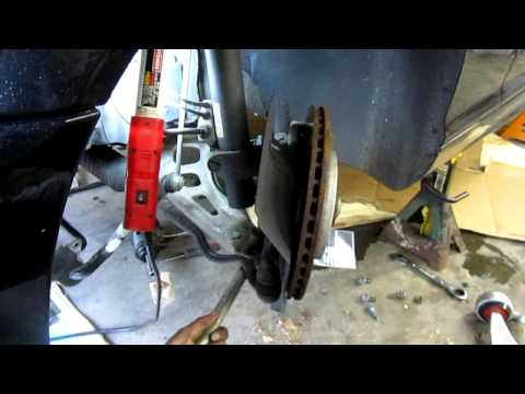 How to change the Ball Joints & Control Arms on a BMW 330ci E46